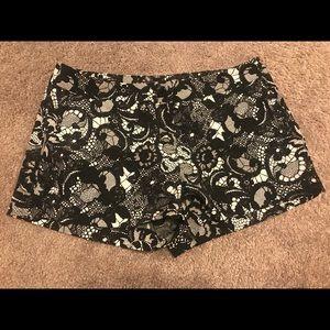 Express chiffon shorts
